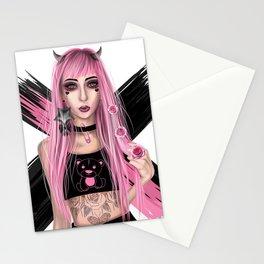 Punk Devil Stationery Cards