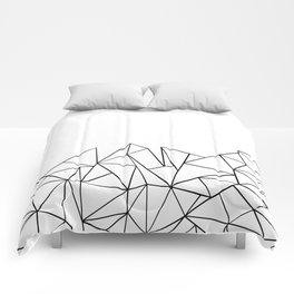 Ab Peaks White Comforters