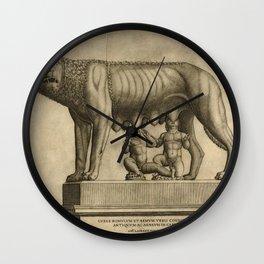 Antonio Lafreri - The Capitoline Wolf Wall Clock