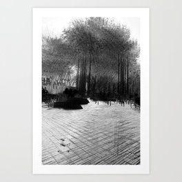 """""""He who sleeps in continual noise is wakened by silence."""" – William Dean Howells Art Print"""