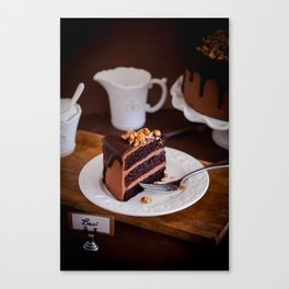 Baci Cake Canvas Print