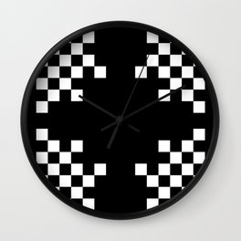 Pixels Wall Clock