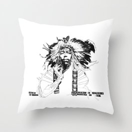 Dreams from the Haze Throw Pillow