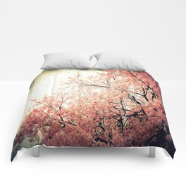 Cherry Blossom Nostalgia Comforters