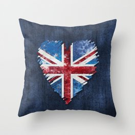 Brexit Or Not Britain We Love You Throw Pillow