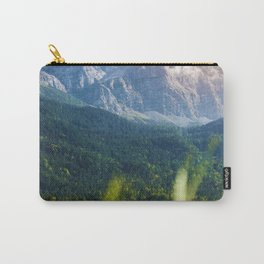 Grass Mountain View (Color) Carry-All Pouch