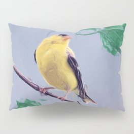 Goldfinch Cottage Chic Country Art Photo Art A355 Pillow Sham