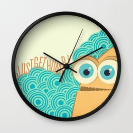 i just get hungry Wall Clock