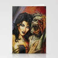 warcraft Stationery Cards featuring Zombie Love #1 by BAXA by baxaart