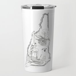 New Hampshire Mermaid Travel Mug