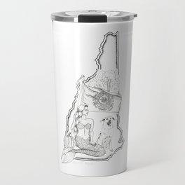 New Hampshire Mermaid Travel Mug