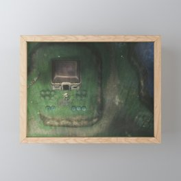 Through the night Framed Mini Art Print