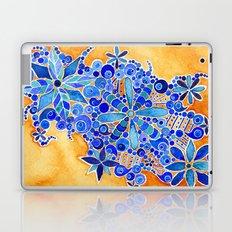 Blue Bouquet Laptop & iPad Skin