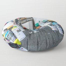 Artist's Playground Floor Pillow