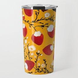 strawberry black bears Travel Mug