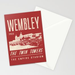 Football Grounds Stationery Cards