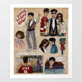 Ferris Bueller's Day Off Art Print