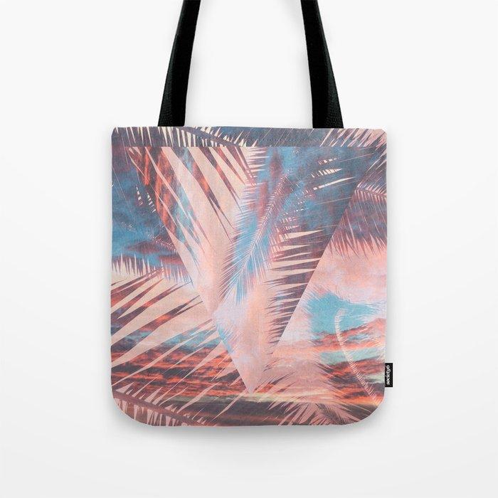 Vibrant Palm Tote Bag