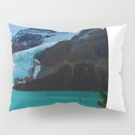 Berg glacier from Berg Lake, BC Pillow Sham