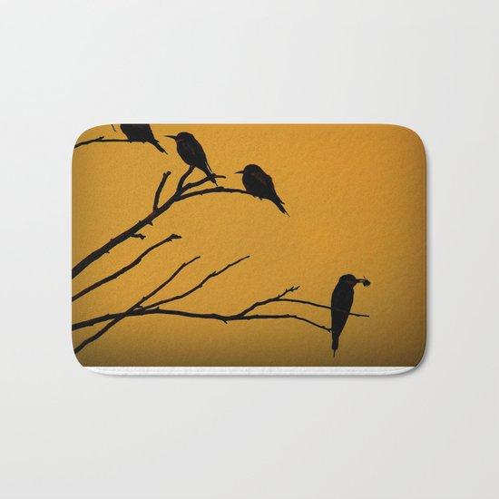 European Bee-Eater Birds  Bath Mat