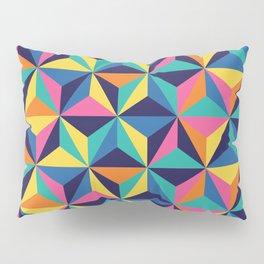 Sunset Triangles Pillow Sham
