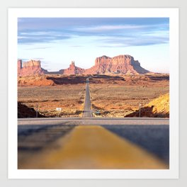 Monument Valley Navajo Valley Tribal Park Art Print