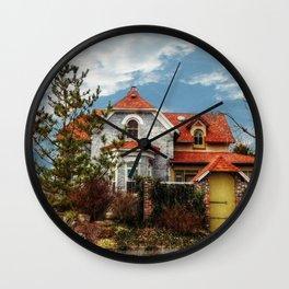 An Interesting House Wall Clock