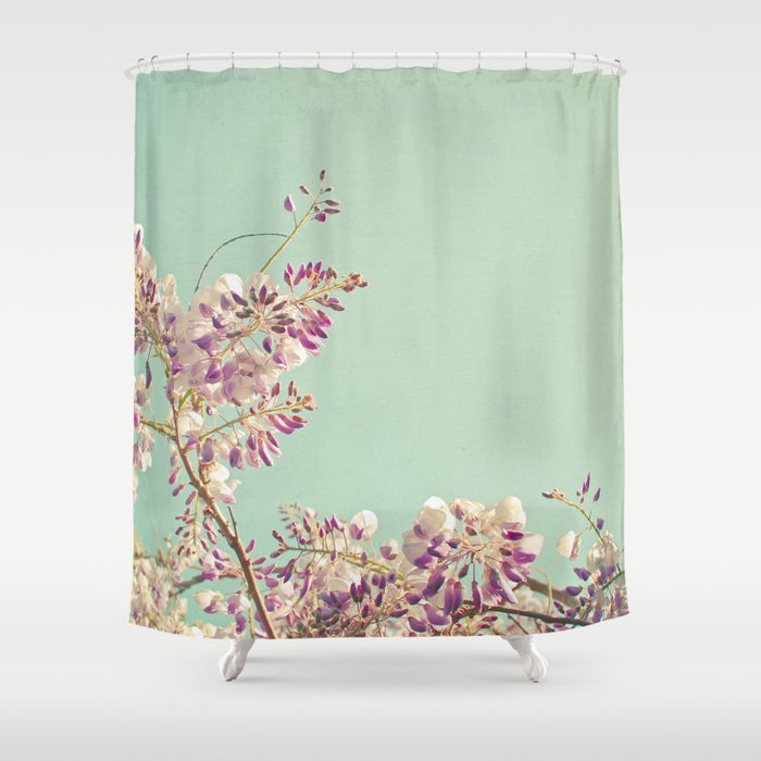 Charmant Wisteria Shower Curtain
