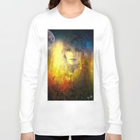 "sandra dieckmann Long Sleeve T-shirts featuring "" Sandra ""  by shiva camille"