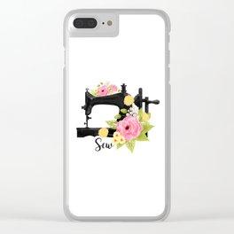 Sew Clear iPhone Case