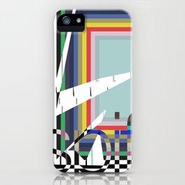 digital escape (spif logo) iPhone Case