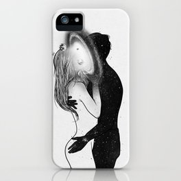 Sharing spirits. iPhone Case