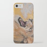 fierce iPhone & iPod Cases featuring Fierce by NicoleFaye