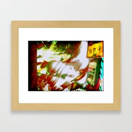 Keyboardist  Framed Art Print