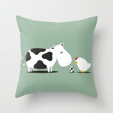 A birth day Throw Pillow
