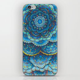 Birthday Mandala iPhone Skin