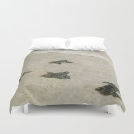 The Journey Begins by Teresa Thompson Duvet Cover