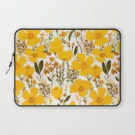 Yellow roaming wildflowers Laptop Sleeve
