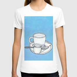 coffee and spoon T-shirt