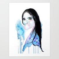 Aina Art Print