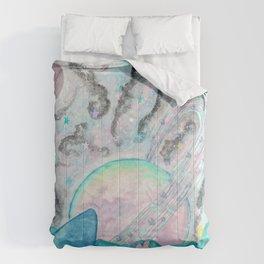 Mushroom Crystal Planet Comforters
