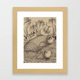 The Golden Fish (1) Framed Art Print