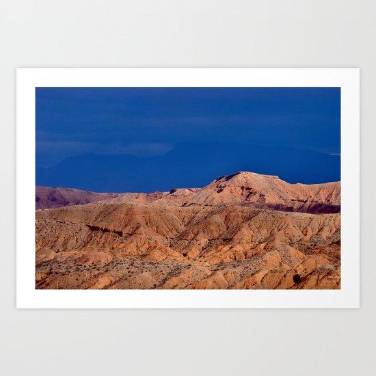 Desert Storm's Abrew'n II Art Print