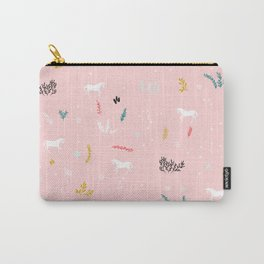 Cute Unicorn Carry-All Pouch
