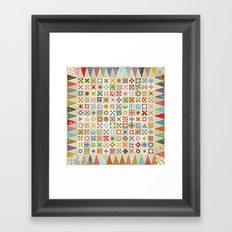 Jane's Addiction to Quilting Framed Art Print