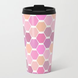 hexagon (3) Travel Mug