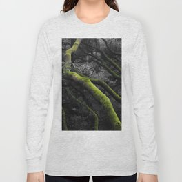 Mossy Bay Trees in Selective Black and White Long Sleeve T-shirt