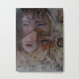 crying with a thousand eyes Metal Print