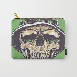 skeleton hat drug Carry-All Pouch