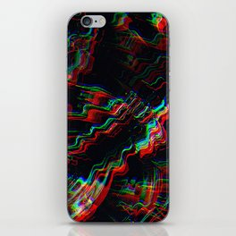 TRIPPY COLORFUL WATER RIPPLES iPhone Skin